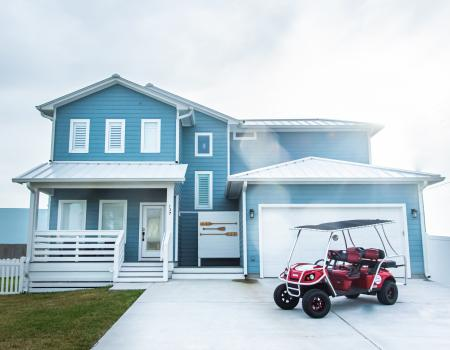 Rentals with Golf Cart Included